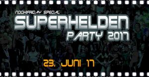 superheld party